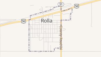 Rolla, Kansas map