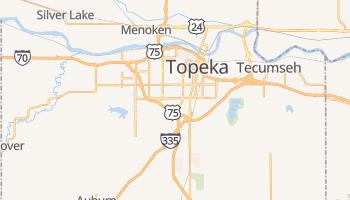 Topeka, Kansas map