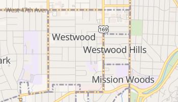 Westwood, Kansas map