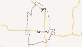 Adairville, Kentucky map