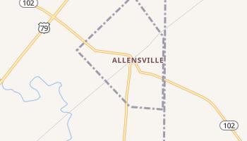 Allensville, Kentucky map