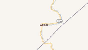 Argo, Kentucky map