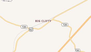 Big Clifty, Kentucky map