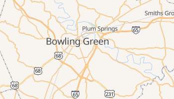 Bowling Green, Kentucky map