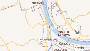 Catlettsburg, Kentucky map