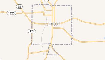 Clinton, Kentucky map