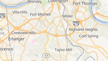 Covington, Kentucky map