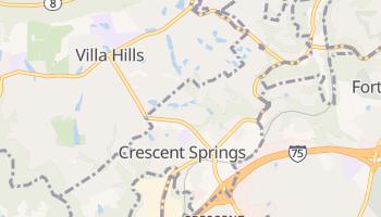 Crescent Springs, Kentucky map