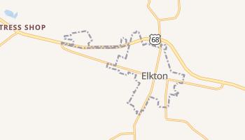 Elkton, Kentucky map