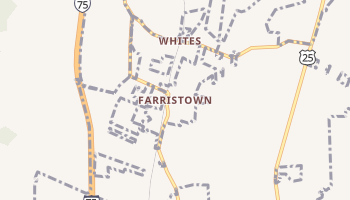 Farristown, Kentucky map