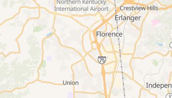 Florence, Kentucky map