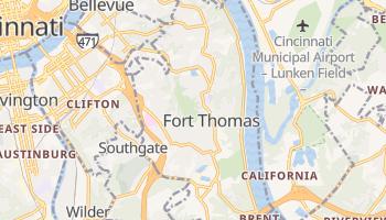 Fort Thomas, Kentucky map
