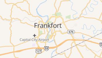 Frankfort, Kentucky map