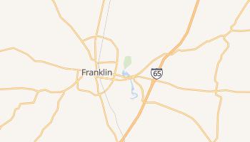 Franklin, Kentucky map