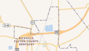 Fulton, Kentucky map