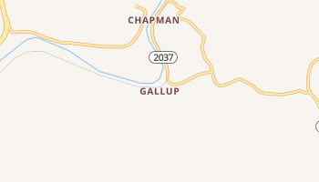 Gallup, Kentucky map