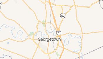 Georgetown, Kentucky map