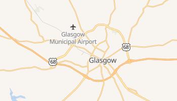 Glasgow, Kentucky map