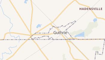 Guthrie, Kentucky map