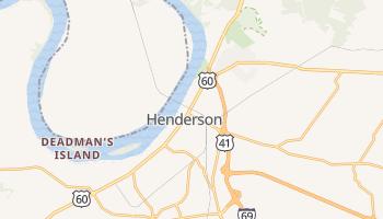 Henderson, Kentucky map