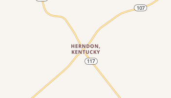 Herndon, Kentucky map