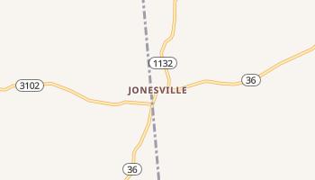 Jonesville, Kentucky map