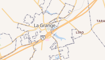 La Grange, Kentucky map