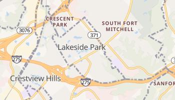 Lakeside Park, Kentucky map