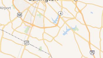 Lexington, Kentucky map