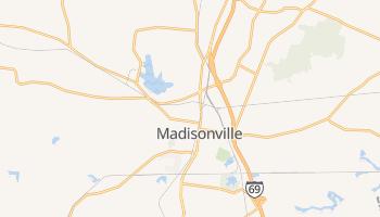 Madisonville, Kentucky map