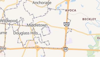 Middletown, Kentucky map