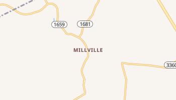 Millville, Kentucky map