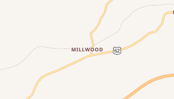 Millwood, Kentucky map