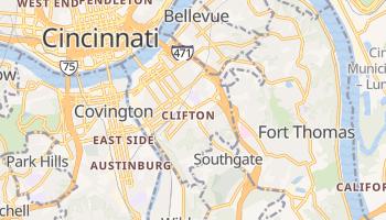 Newport, Kentucky map