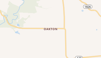 Oakton, Kentucky map