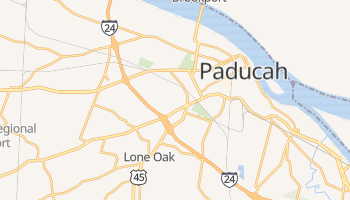 Paducah, Kentucky map