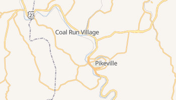 Pikeville, Kentucky map