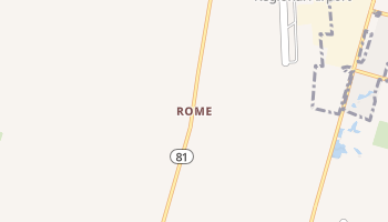 Rome, Kentucky map