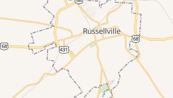 Russellville, Kentucky map