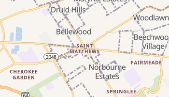 Saint Matthews, Kentucky map