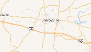 Shelbyville, Kentucky map
