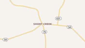 Short Creek, Kentucky map