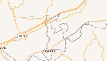 Sparta, Kentucky map