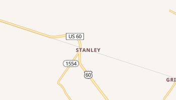 Stanley, Kentucky map