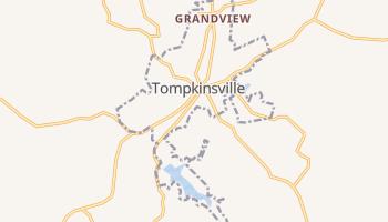 Tompkinsville, Kentucky map