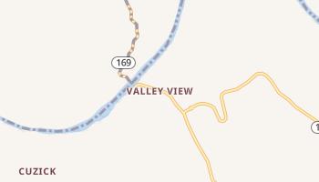 Valley View, Kentucky map