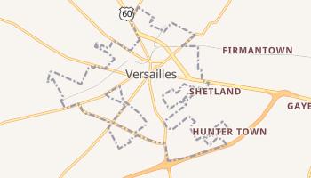 Versailles, Kentucky map
