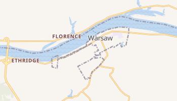 Warsaw, Kentucky map