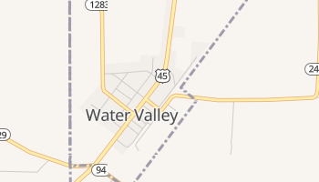 Water Valley, Kentucky map