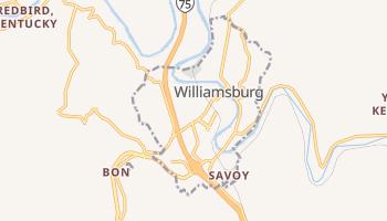Williamsburg, Kentucky map